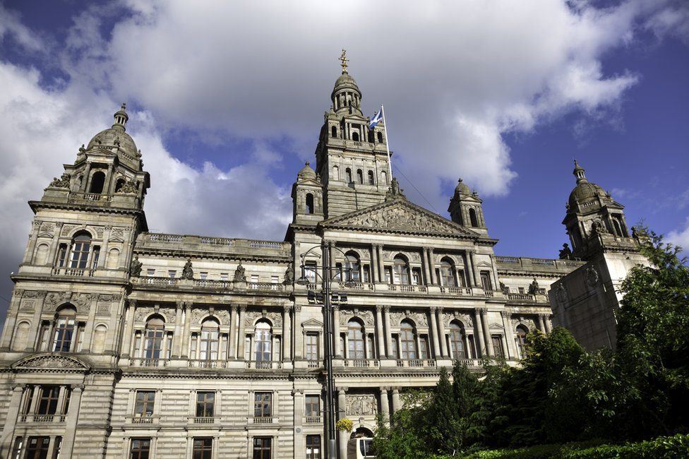 Glasgow City Council chambers