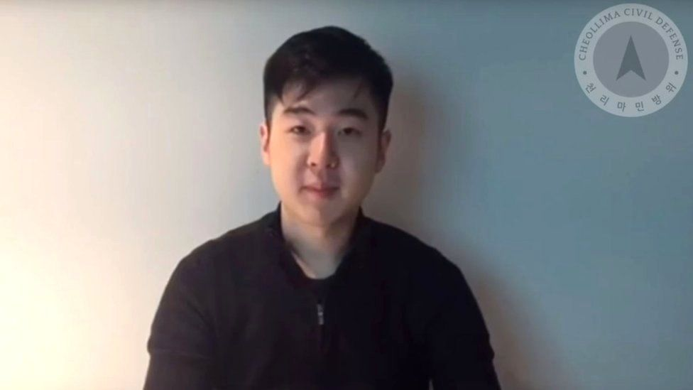 Kim Han-sol appears on the Free Joseon YouTube channel