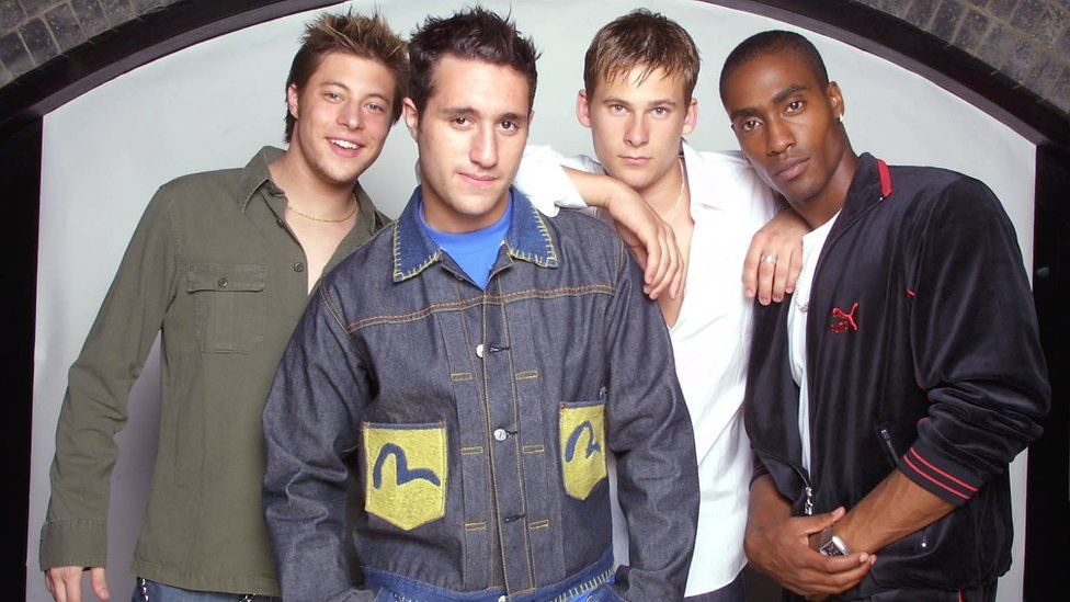 The band Blue in 2001