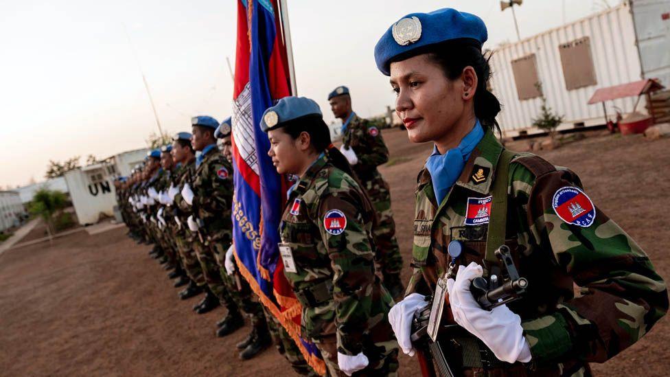 Cambodian UN peacekeeping troops in Mali