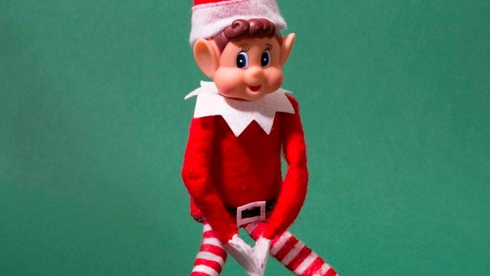 Poundland's naughty elf