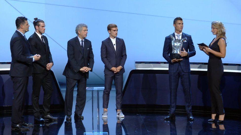 Bale Griezman a Ronaldo