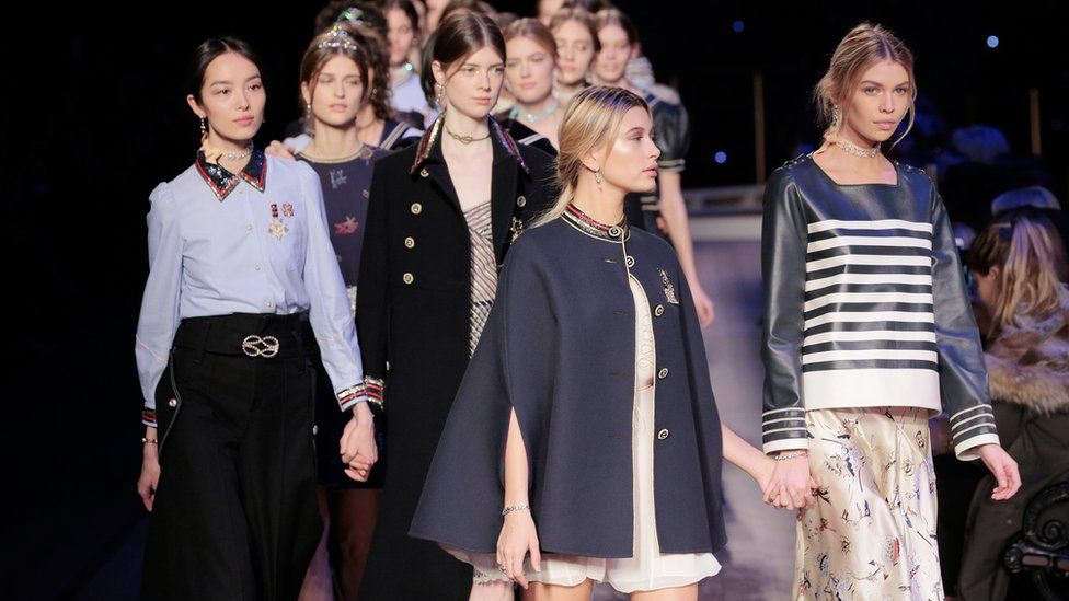 Tommy Hilfiger Women's runway show during Fall 2016 New York Fashion Week