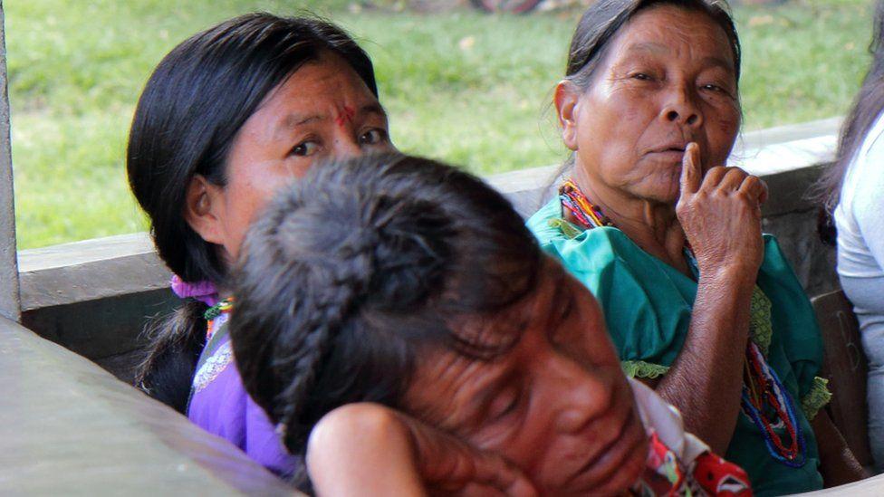 Embera women