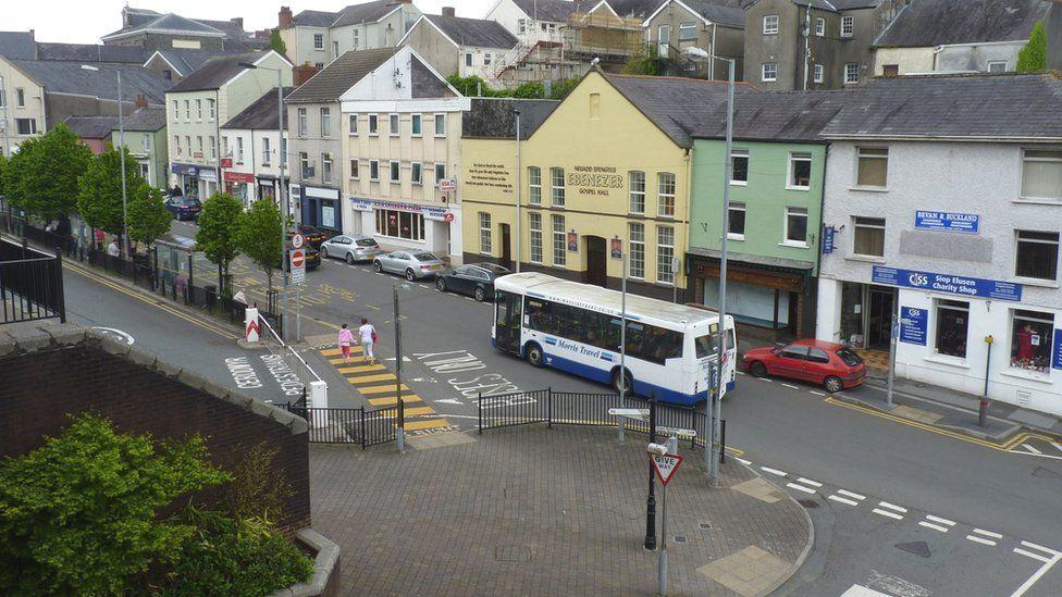 Blue Street, Carmarthen