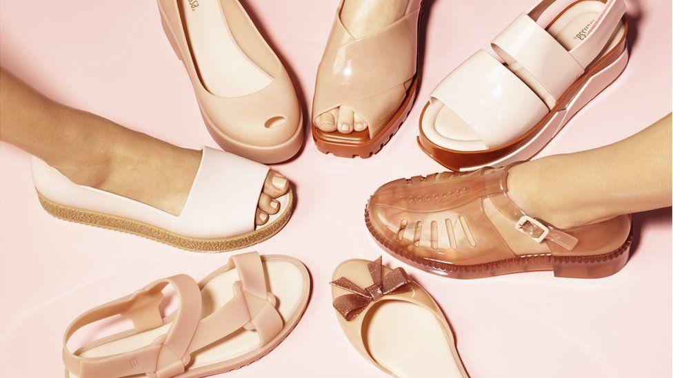Melissa rose gold shoes