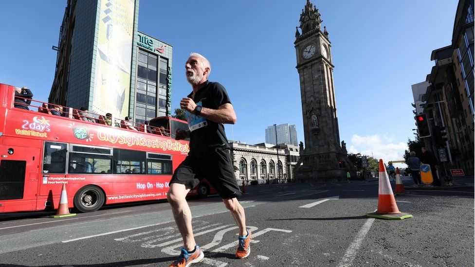 Belfast City half marathon, 17 September