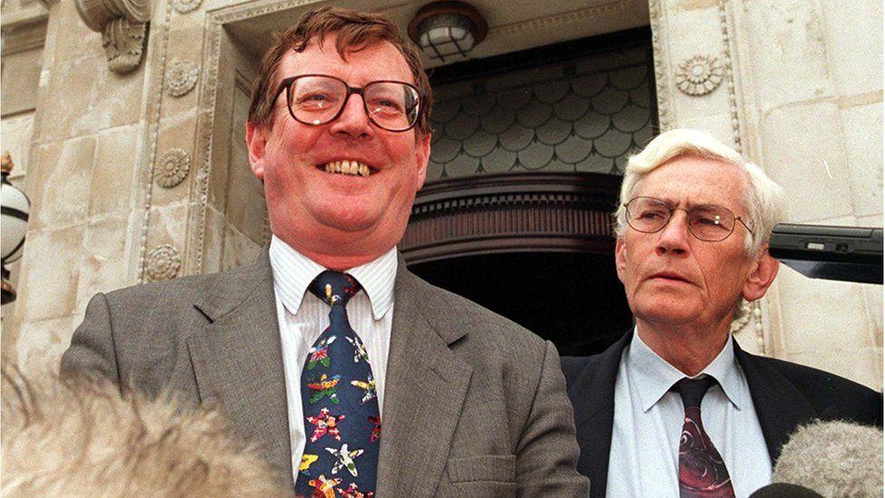 David Trimble and Seamus Mallon were dubbed the political 'odd couple'