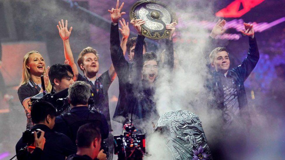 The International: Major eSports tournament postponed - BBC News