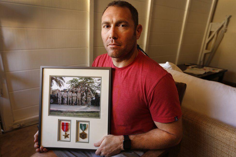 Robert D'Andrea, a retired Army major and Iraq war veteran