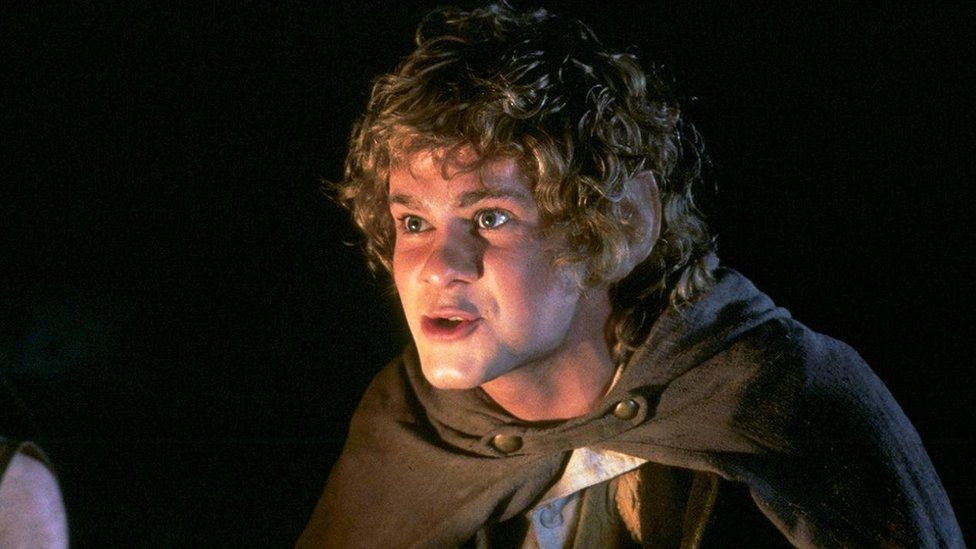 Dominic Monaghan in Lord of the Rings