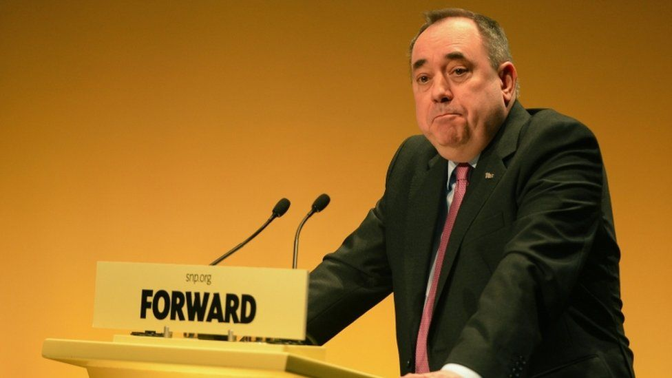 Alex Salmond appears in court ahead of sex offences trial - BBC News