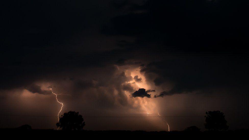 Lightning in the Scottish Borders