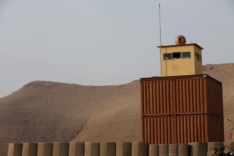 Lebanon border post