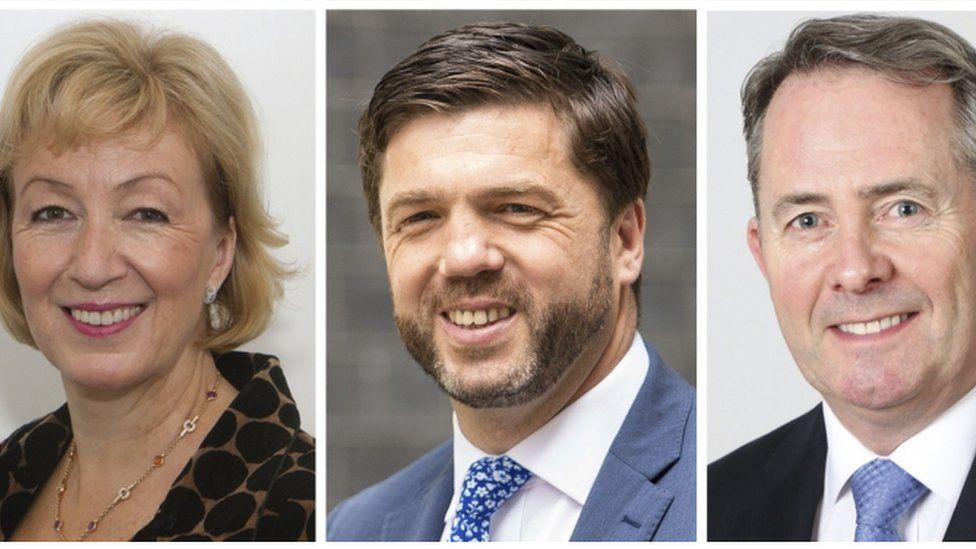 Andrea Leadsom, Stephen Crabb and Liam Fox