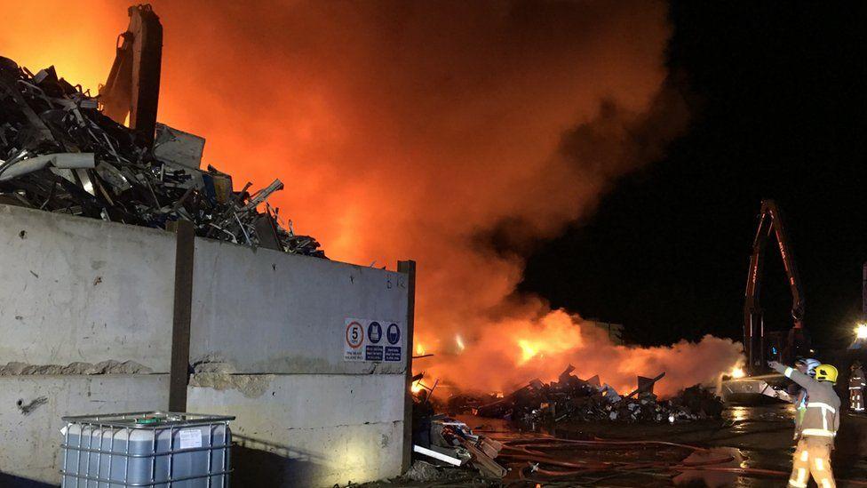 Great Blakenham fire