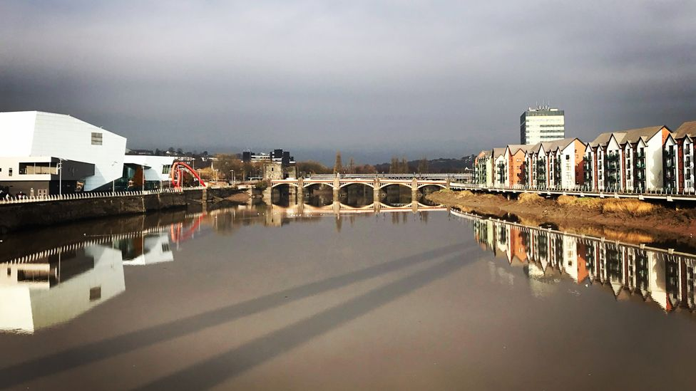 Newport and the River Usk