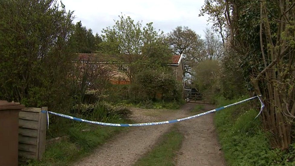 The scene where Ben Wragge was fatally injured