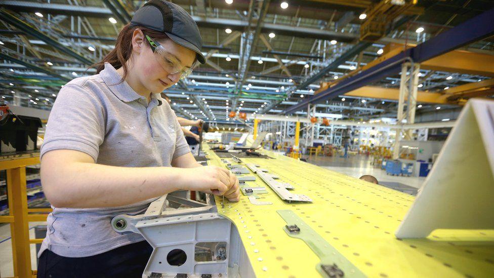 Apprentice at Airbus in Flintshire