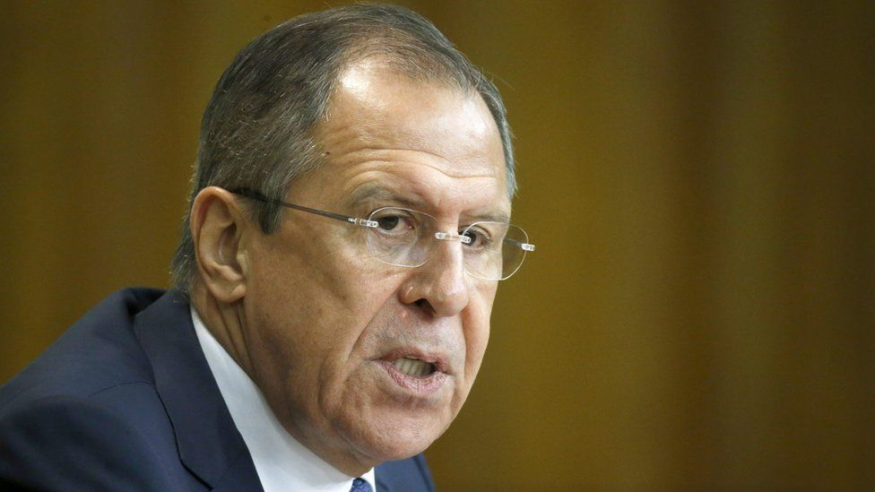 Russian Foreign Minister Sergei Lavrov (26 Jan 2016)