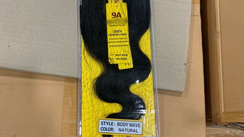 One of the products seized in the US