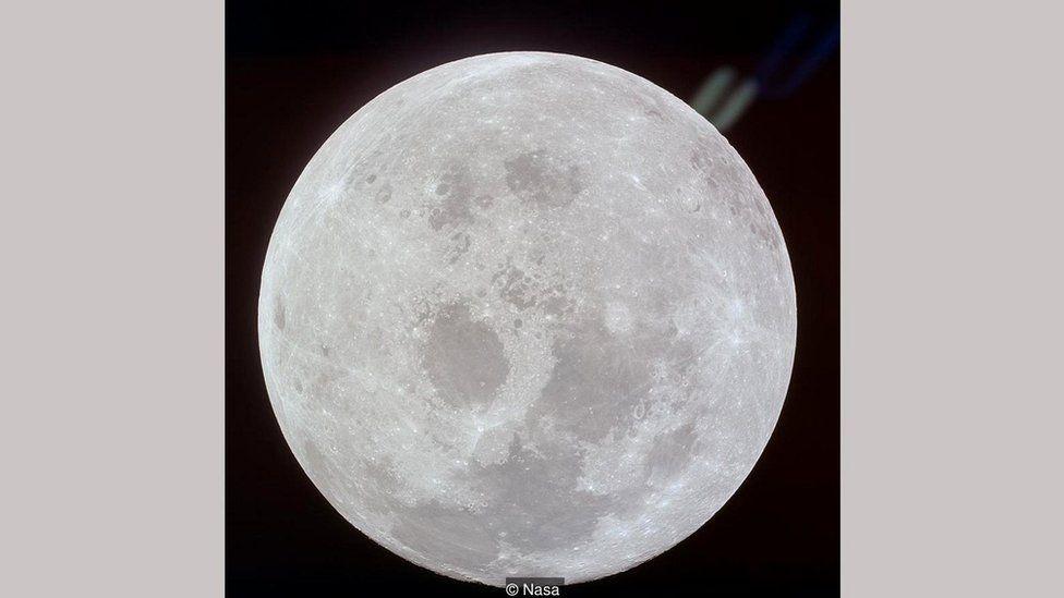 Прощальная фотография Луны