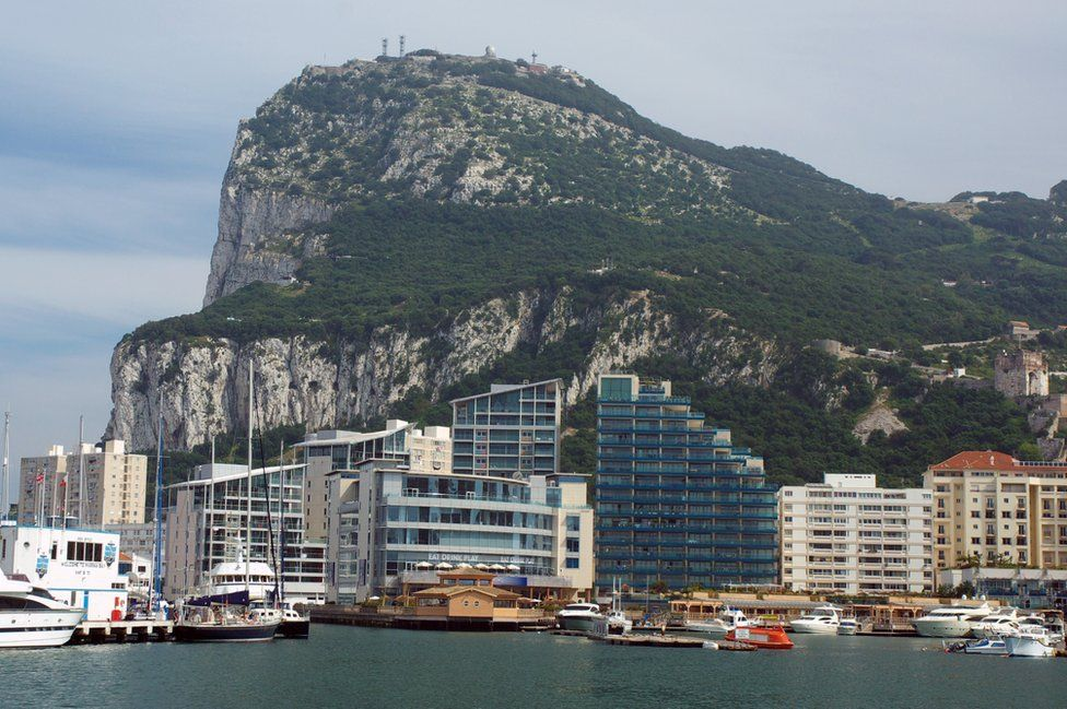 View of Gibraltar, 2009 file pic