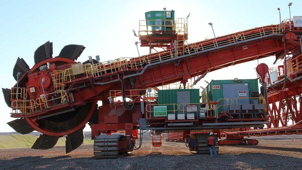 Equipment at Antofagasta's Antucoya mine