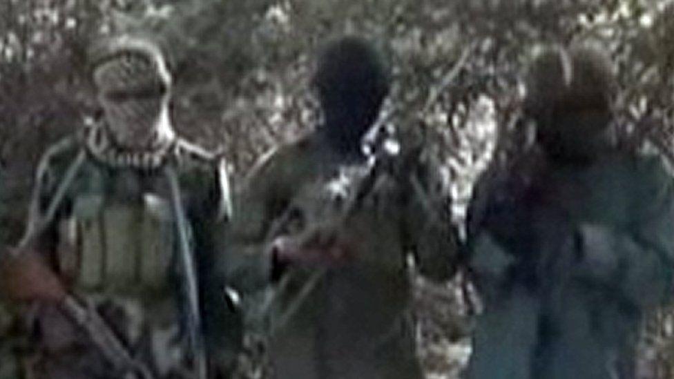 Boko Haram fighters (file photo)