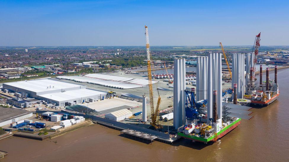 Siemens Gamesa blade factory in Hull