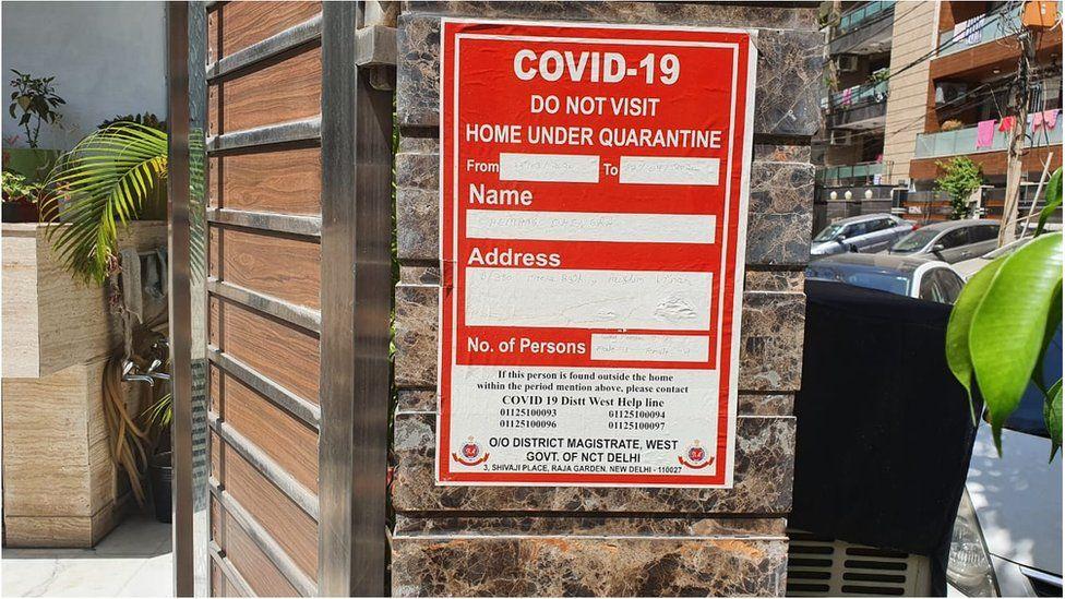 Coronavirus India Home Quarantine Families Face Discrimination Bbc News