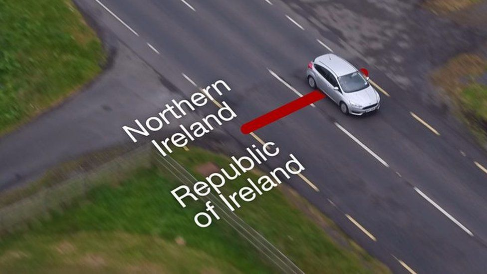 The border with Northern Ireland