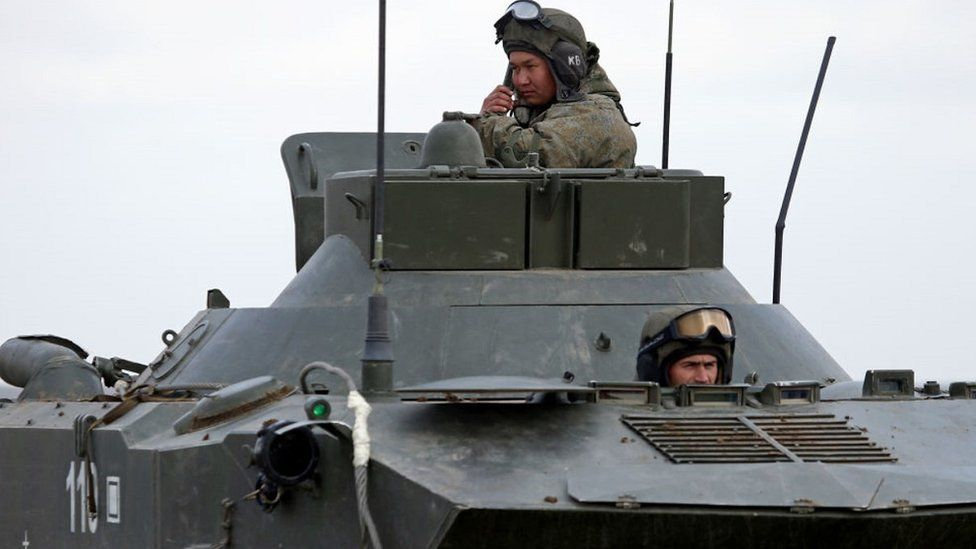 Russian armour in Crimea, 19 Mar 21