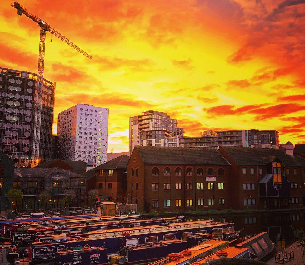Sunrise in Birmingham