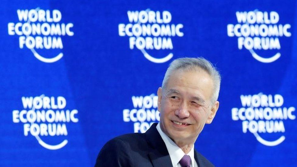 Liu He at Davos WEF in 2018