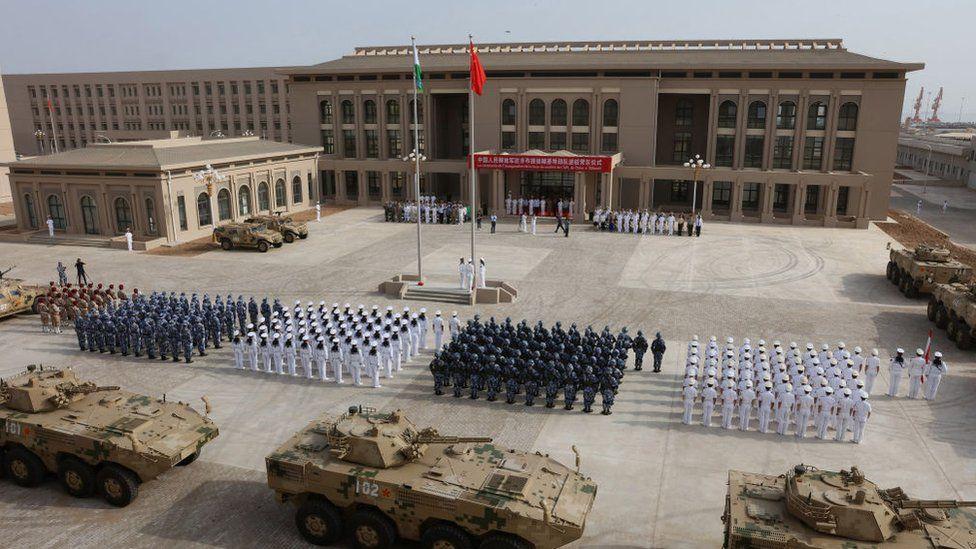 China set up an military base in Djibouti last year