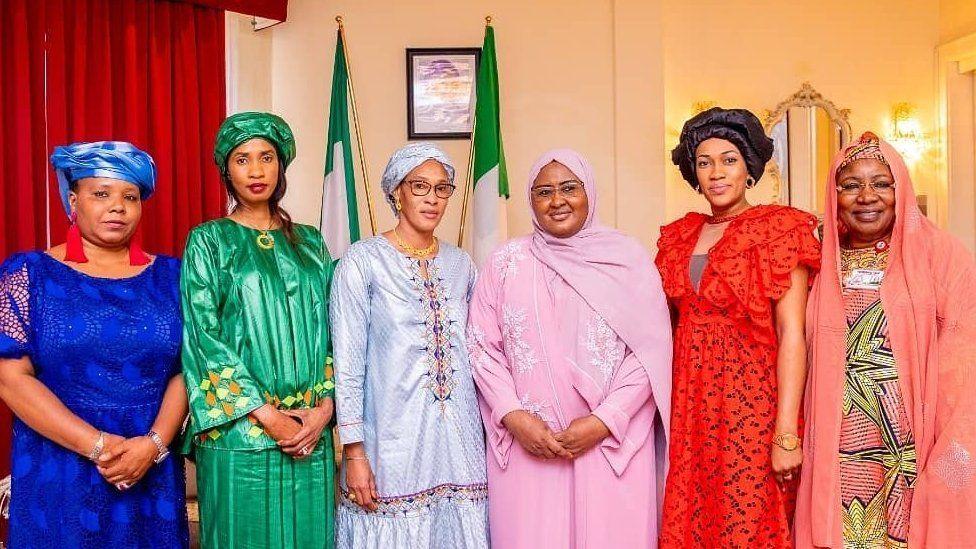 Yusuf Buhari and Zahra Bayero wedding fotos: President Muhammadu Buhari son fatiha fotos