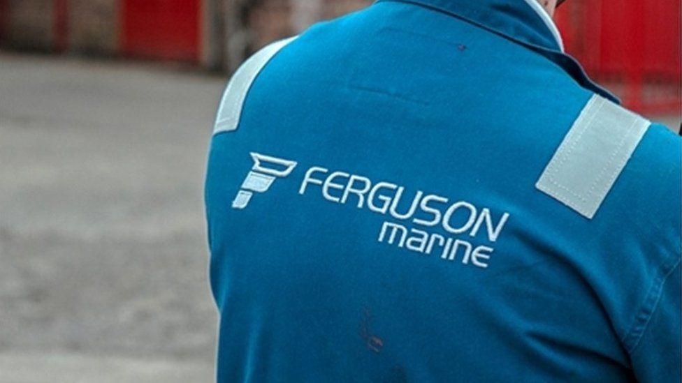 Ferguson Marine worker