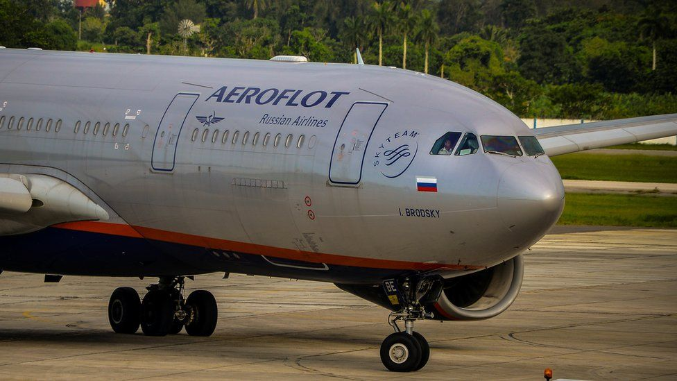 Aeroflot airliner