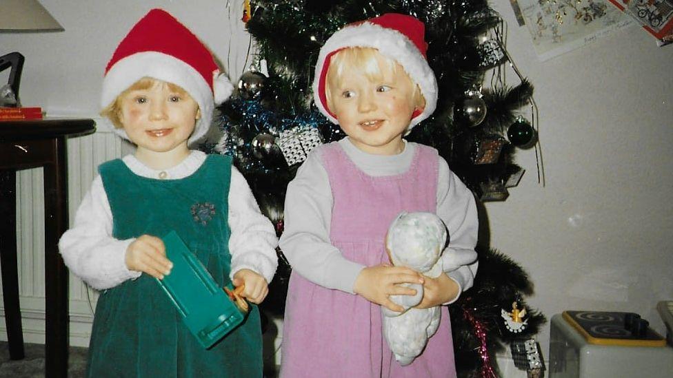 Anwen and Aneira Hayward