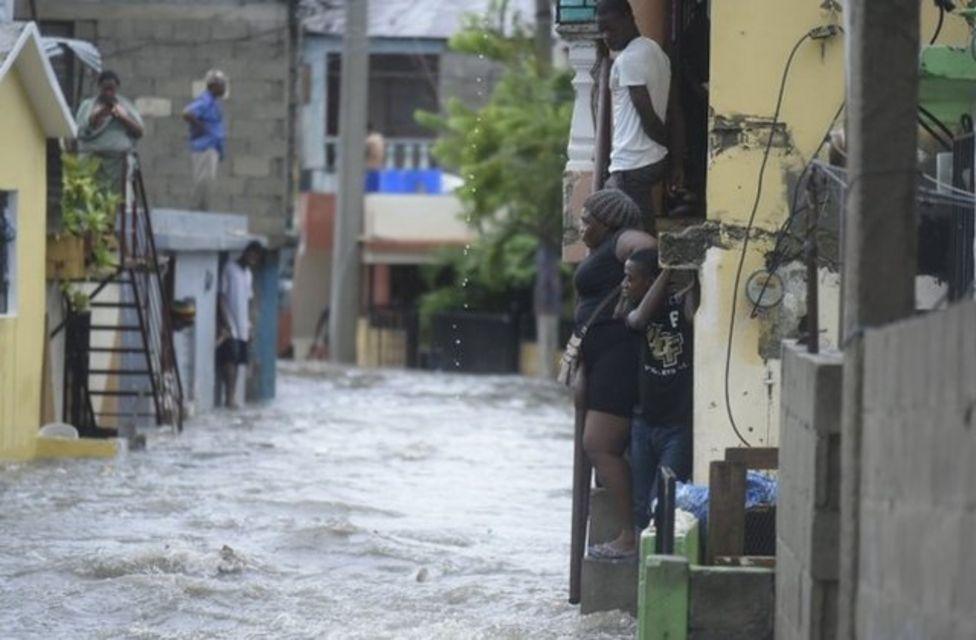 Dominik Cumhuriyeti'nde hükümet halkı sel ihtimaline karşı uyarmıştı.