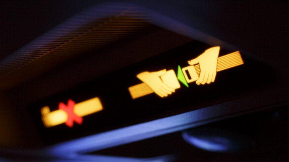Fasten seatbelt sign