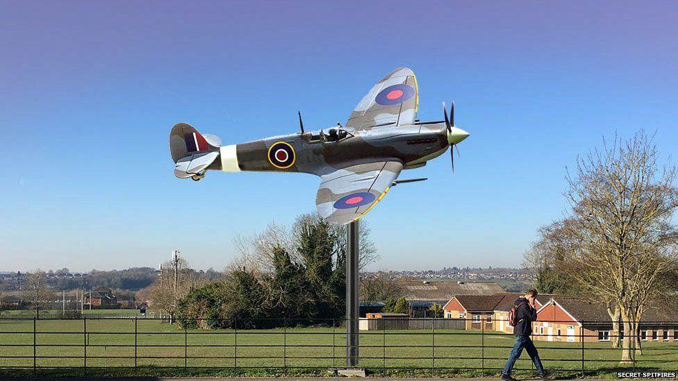 Memorial to honour 'secret' Salisbury Spitfire factory