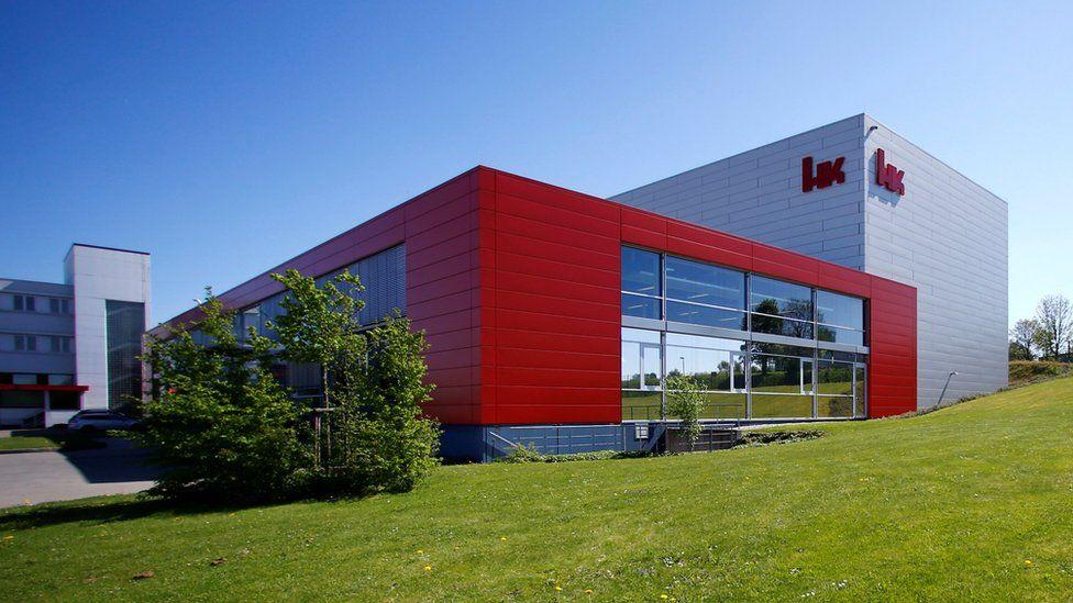 H&K centre in Oberndorf