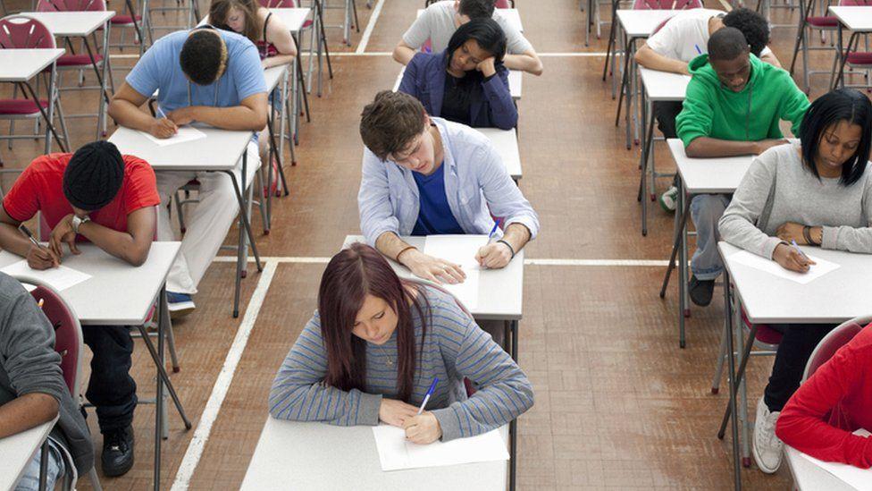 Exam a level pupils