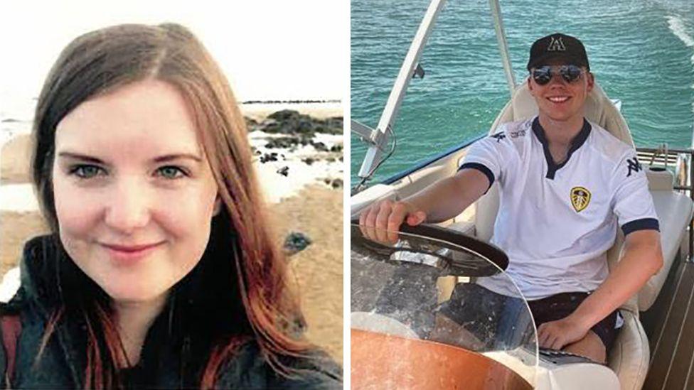 Maisie Ryan and Oliver Knott