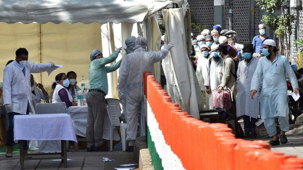 India coronavirus: Tablighi Jamaat gives blood for plasma therapy - BBC News