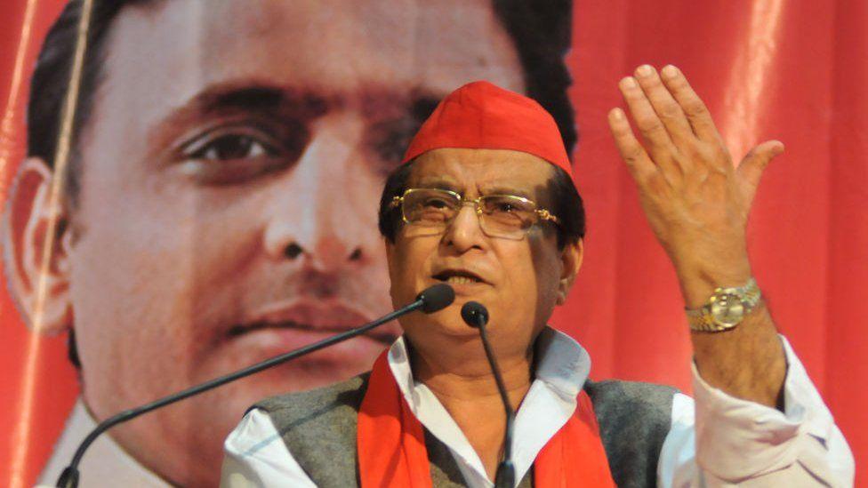 Samajwadi Political Party Senior Leader Azam Khan Speech at the State Conferences of Samajwadi Party on December 02,2017 in Kolkata.