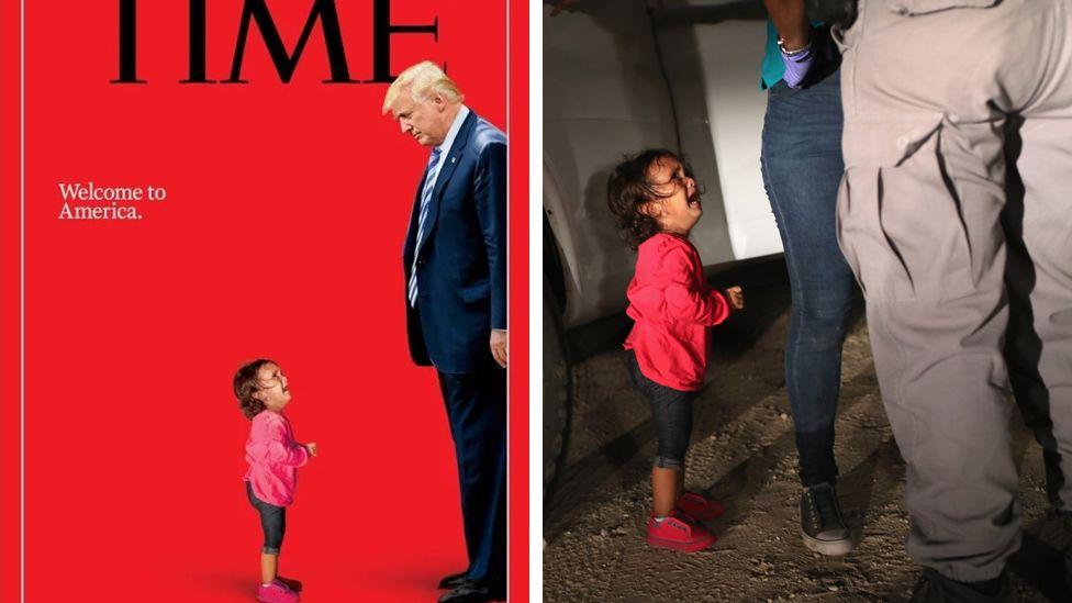 Niños separados de sus padres en EE.UU.: la impactante portada de la revista Time sobre la crisis en la frontera