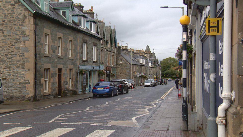 Aberfeldy town centre